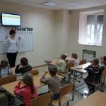 Урок в детском центре развития AMAKids
